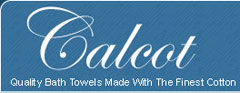 Calcot Growers 100% Supima cotton bath towels